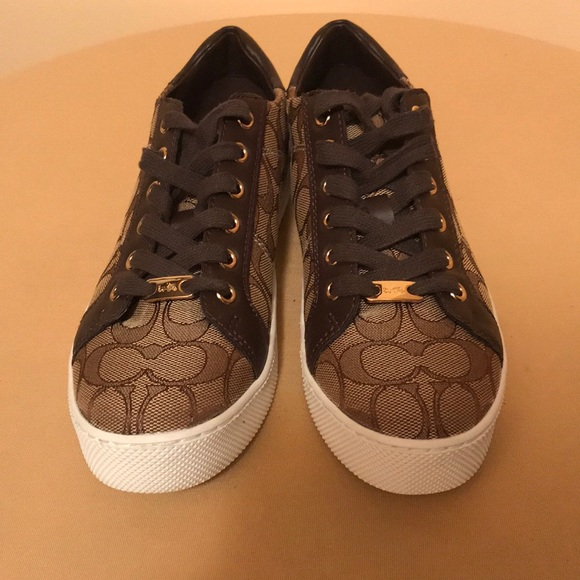 ab8cc2f512af2 Coach Shoes | Womens Paddy Sneaker Signature C New | Poshmark
